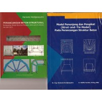 Buku Struktur Beton Strut and Tie Model ( Paket 2 Buku )