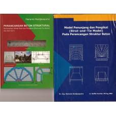 [Stock : Kosong / Habis Terjual] Buku Struktur Beton Strut and Tie Model ( Paket 2 Buku )